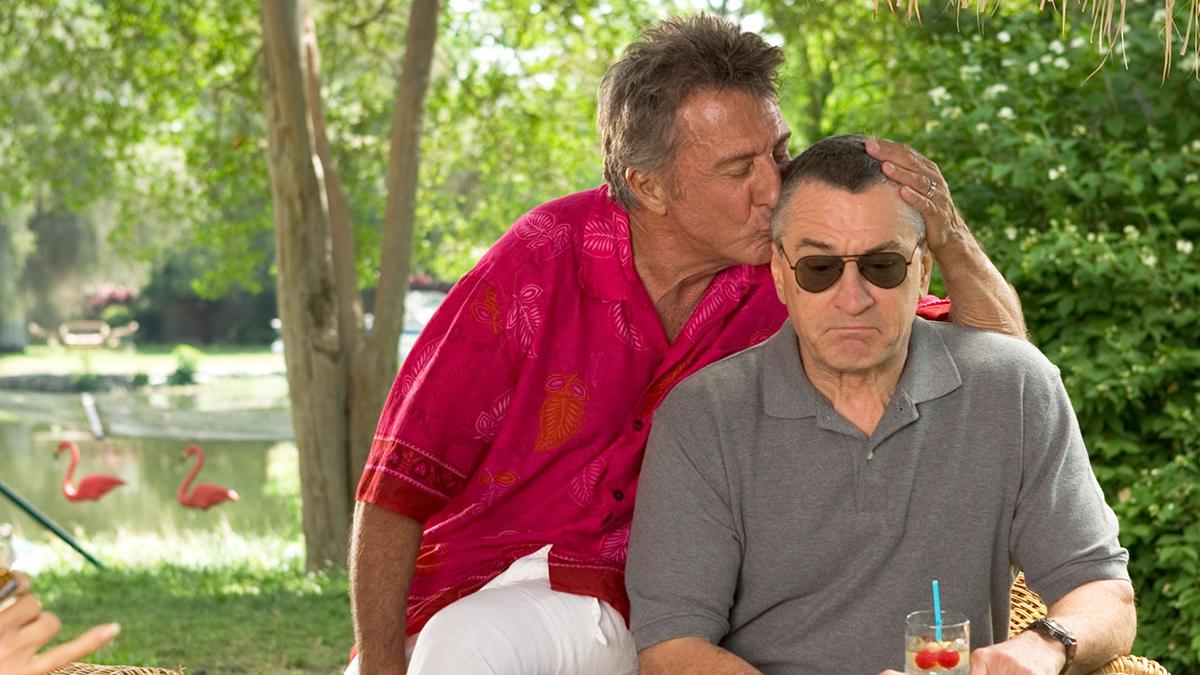 Los padres de él: Dustin Hoffman, Robert De Niro