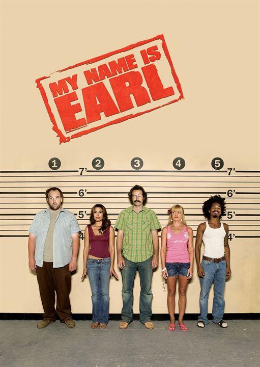 Me llamo Earl : Cartel
