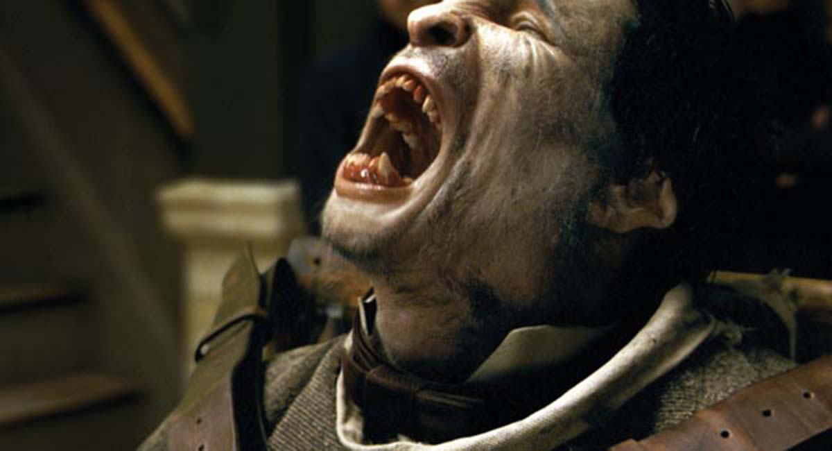 El hombre lobo: Benicio Del Toro