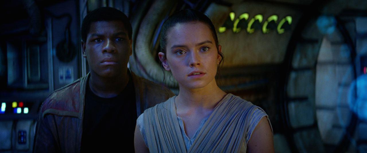 Daisy Ridley John Boyega Star Wars Disney