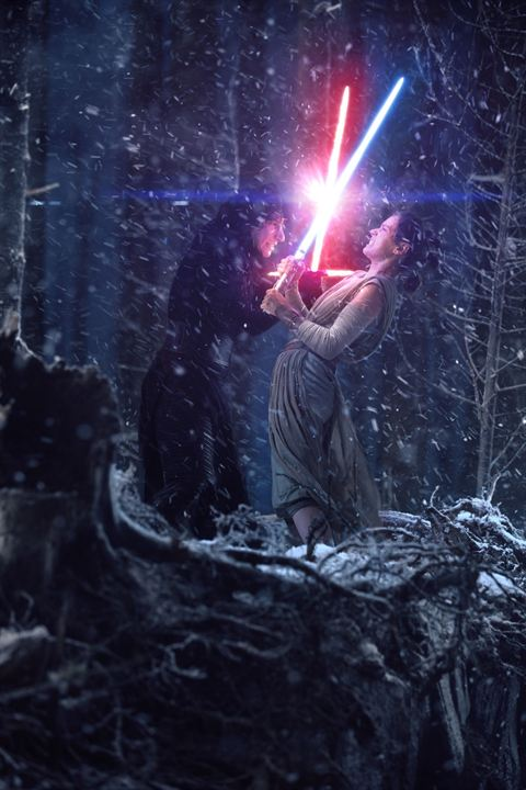 Star Wars: El despertar de la Fuerza: Adam Driver, Daisy Ridley