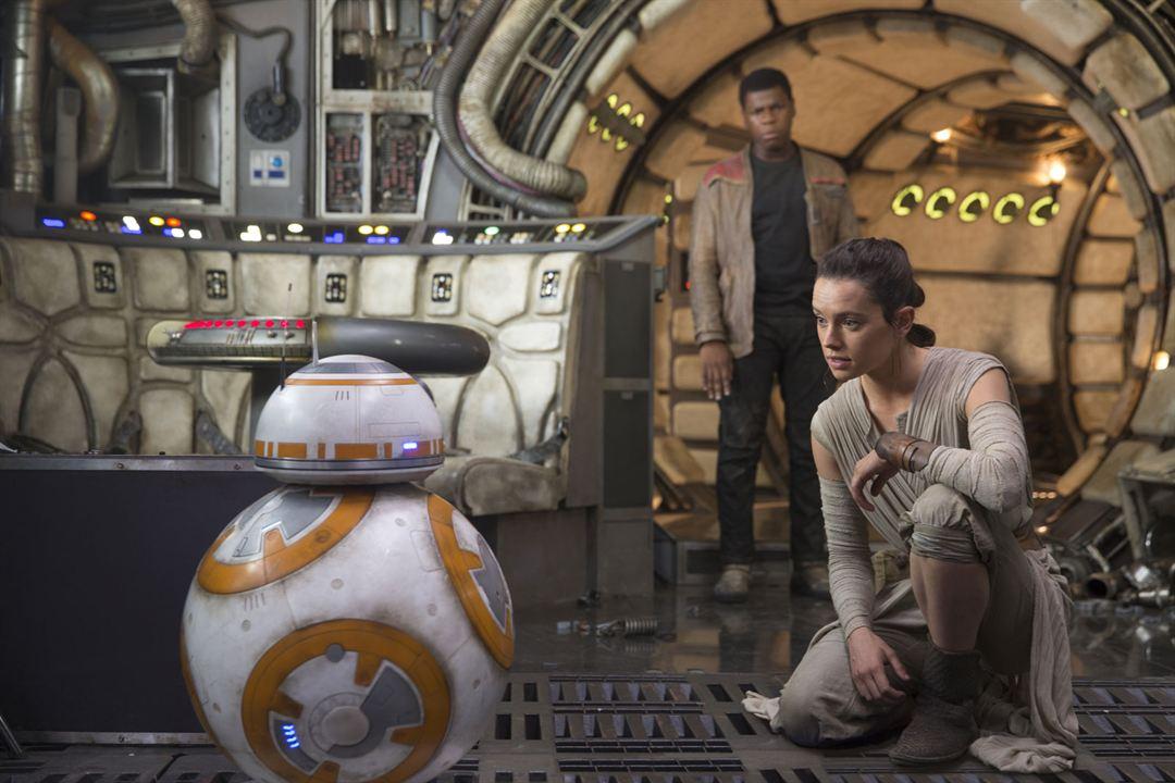 Star Wars: El despertar de la Fuerza: Daisy Ridley, John Boyega