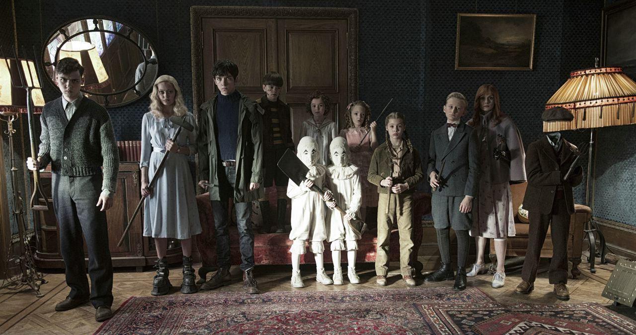 El hogar de Miss Peregrine para niños peculiares : Foto Asa Butterfield, Ella Purnell, Pixie Davies
