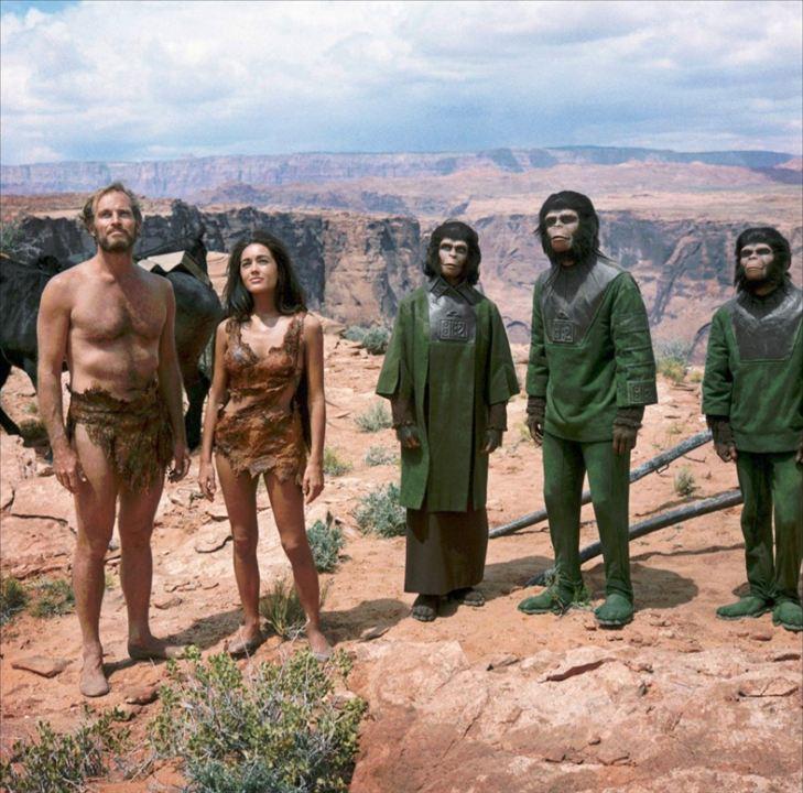 El planeta de los simios: Charlton Heston