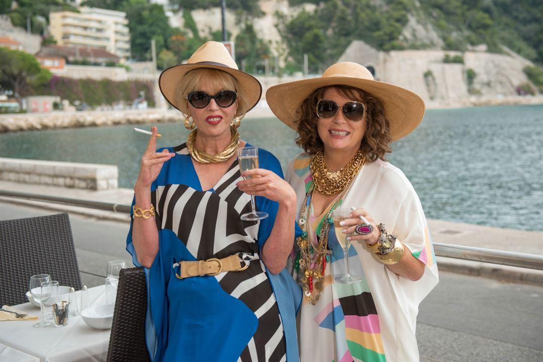 Absolutamente fabulosas: Joanna Lumley, Jennifer Saunders