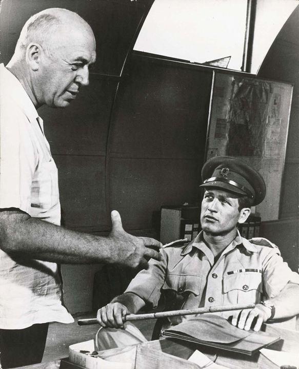 Éxodo : Foto Otto Preminger, Paul Newman