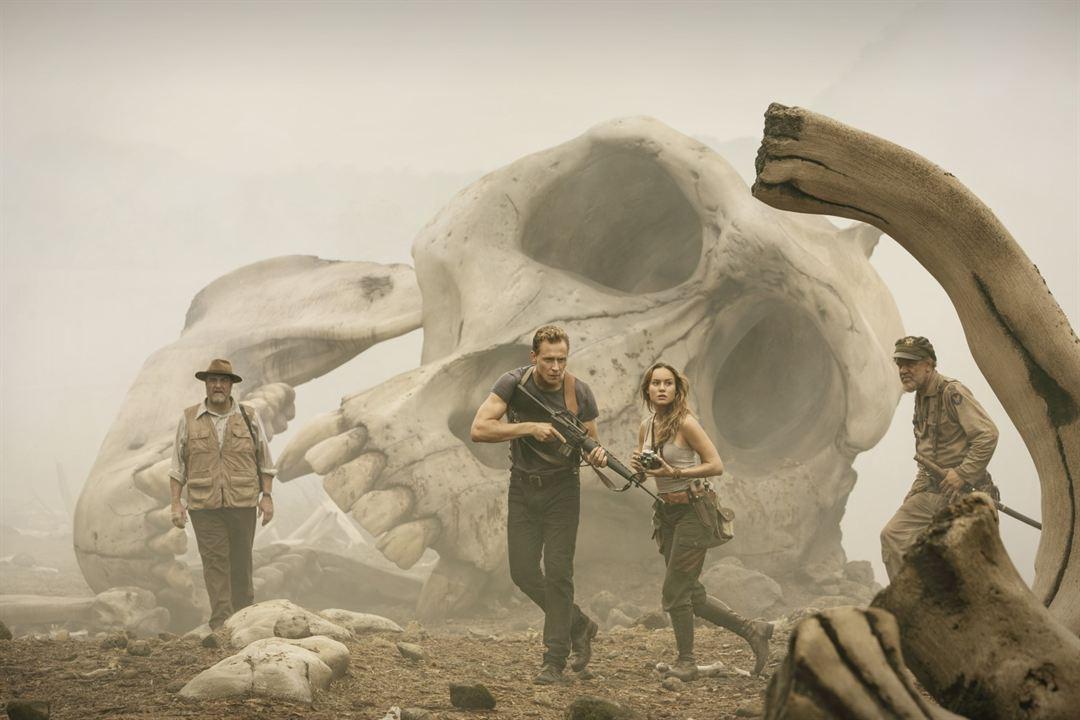Kong: La Isla Calavera : Foto Brie Larson, John C. Reilly, John Goodman, Tom Hiddleston