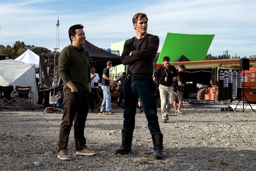 Star Trek: Más allá : Foto Chris Pine, Justin Lin