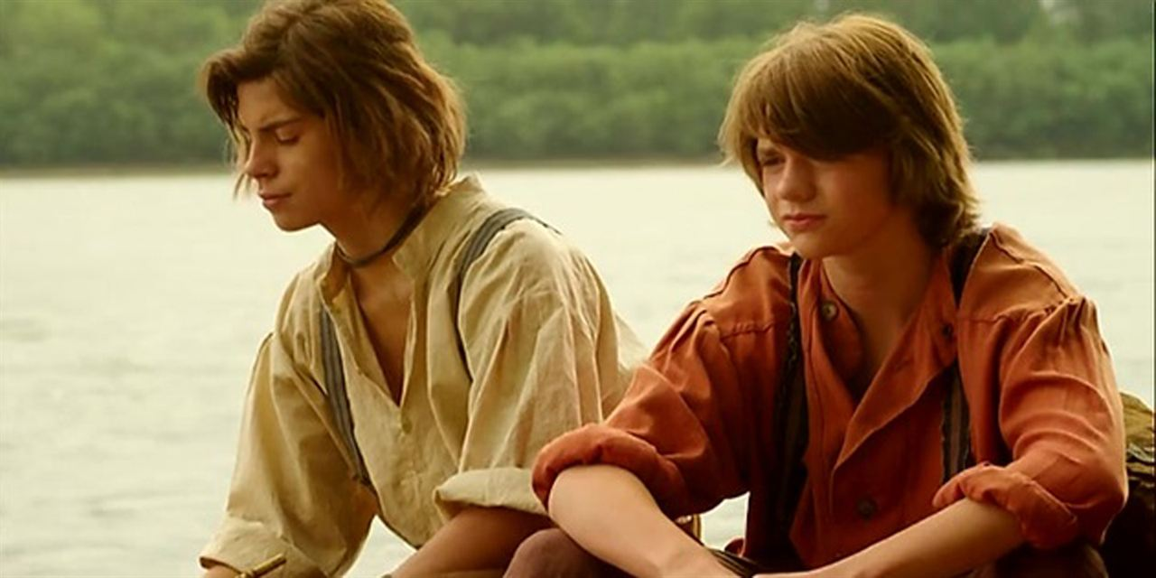 Tom Sawyer & Huckleberry Finn : Foto Jake T. Austin, Joel Courtney