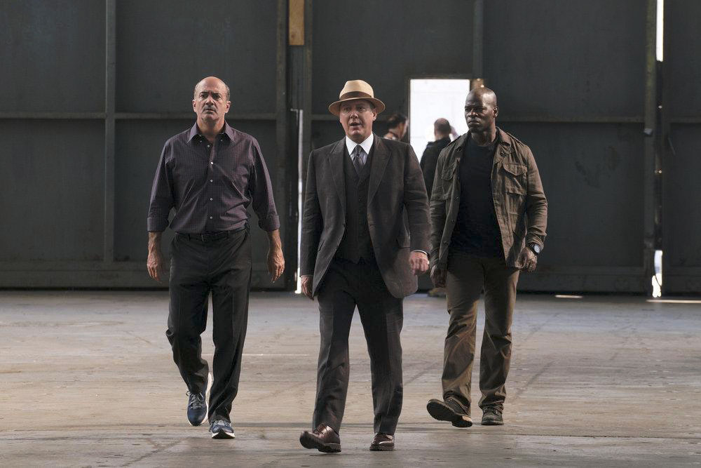Foto Hisham Tawfiq, James Spader, Matt Servitto