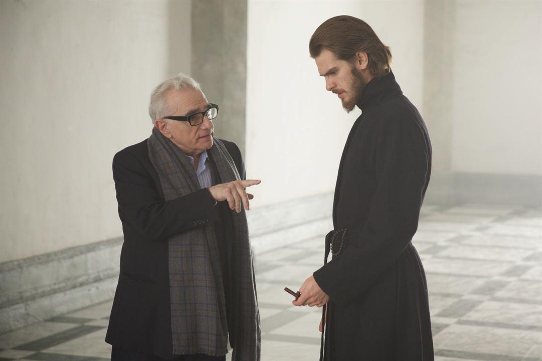 Silencio : Foto Andrew Garfield, Martin Scorsese