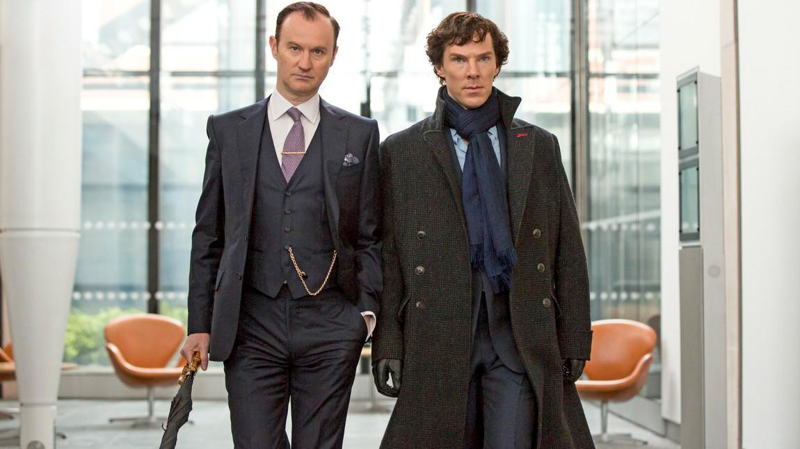 Foto Benedict Cumberbatch, Mark Gatiss