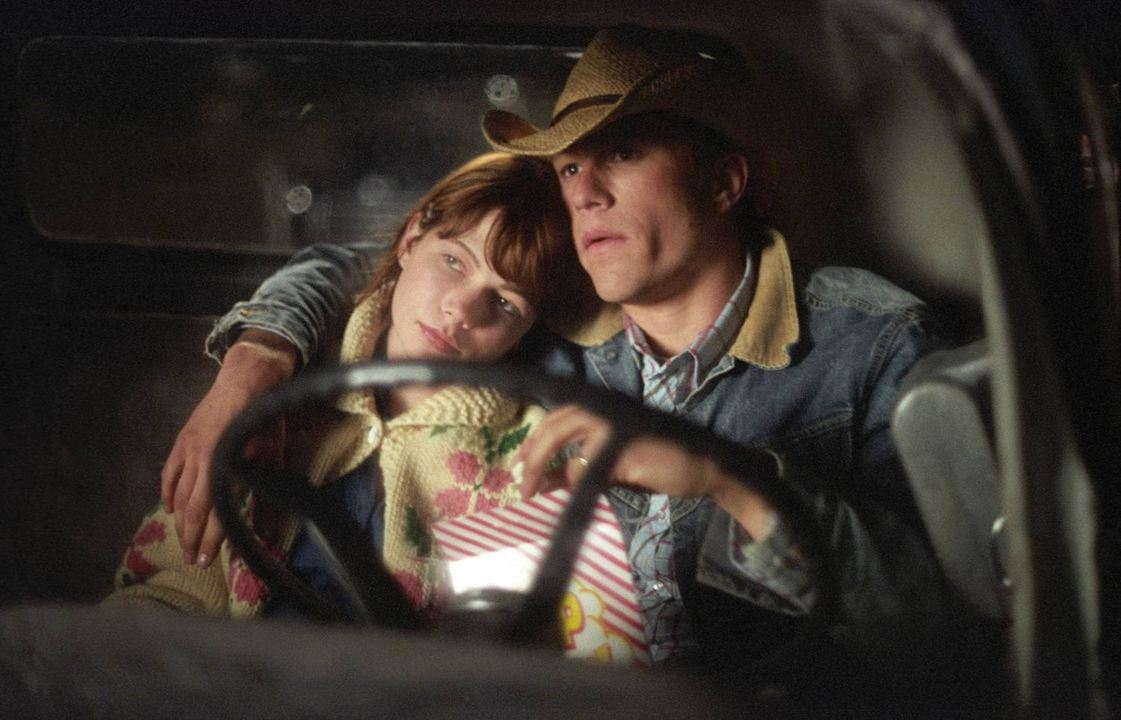 Brokeback Mountain. En terreno vedado : Foto Heath Ledger, Michelle Williams