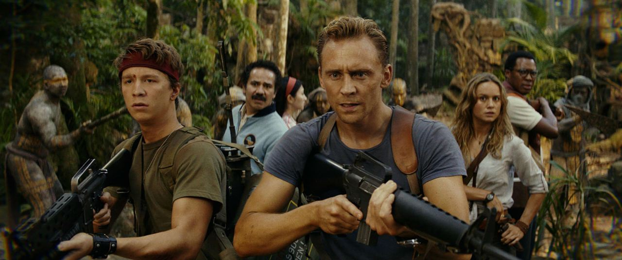 Kong: La Isla Calavera : Foto Brie Larson, Corey Hawkins, Thomas Mann (II), Tom Hiddleston