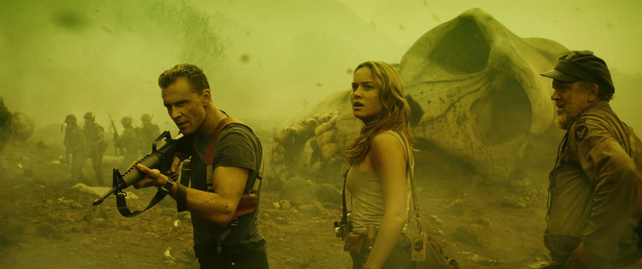 Kong: La Isla Calavera : Foto Brie Larson, John C. Reilly, Tom Hiddleston