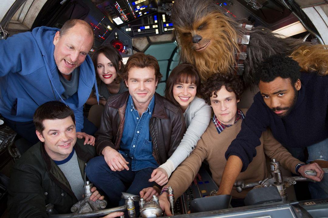 Han Solo: Una Historia de Star Wars : Couverture magazine Alden Ehrenreich, Christopher Miller, Donald Glover, Emilia Clarke, Joonas Suotamo