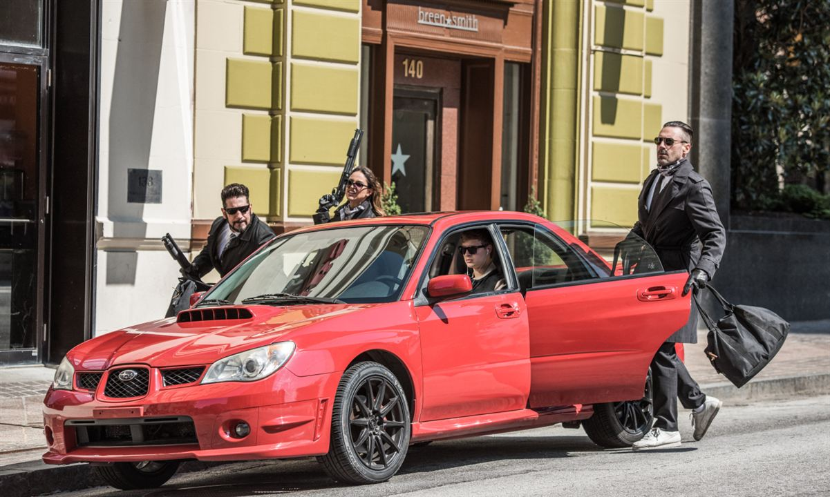 Baby Driver : Foto Ansel Elgort, Eiza Gonzalez, Jon Bernthal, Jon Hamm