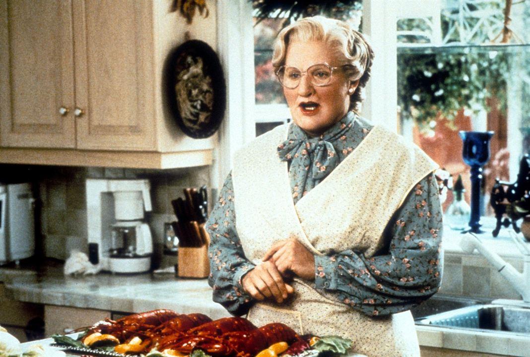 La señora Doubtfire, papá de por vida: Robin Williams