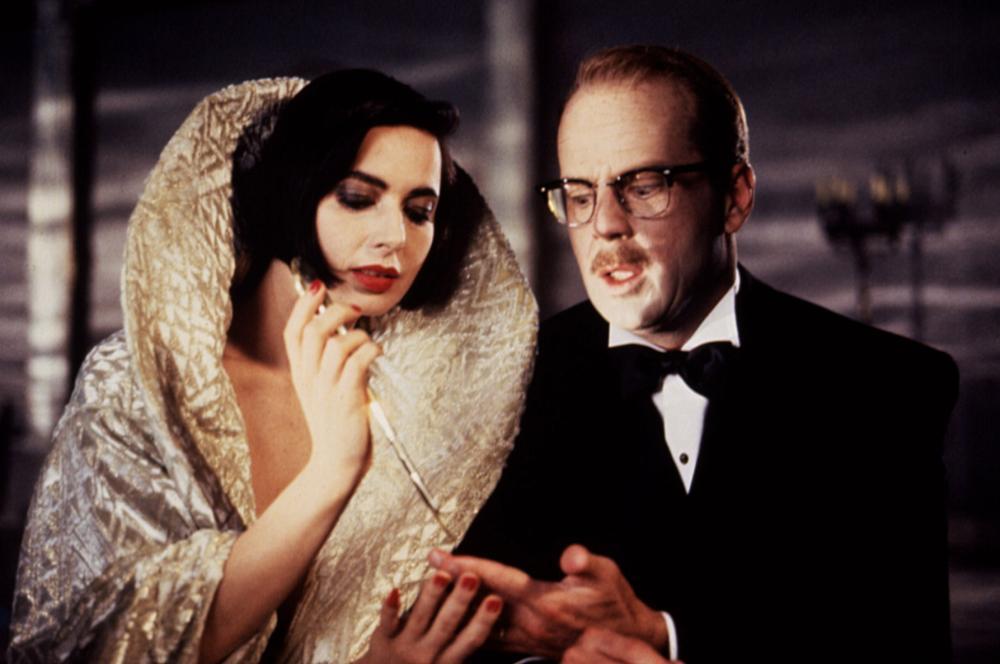 La muerte os sienta tan bien: Isabella Rossellini, Bruce Willis
