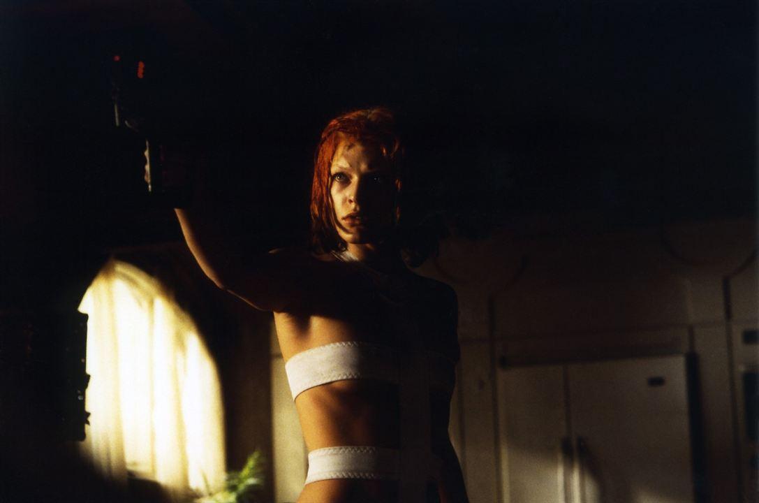 El quinto elemento: Milla Jovovich