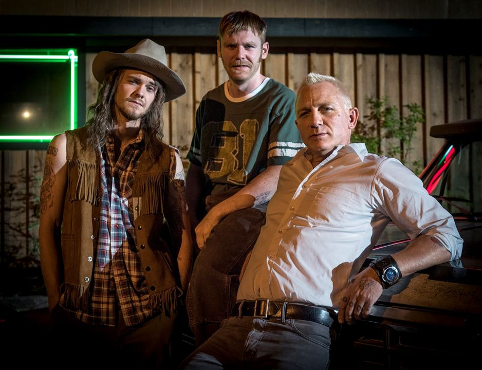 La suerte de los Logan : Foto Brian Gleeson, Daniel Craig, Jack Quaid