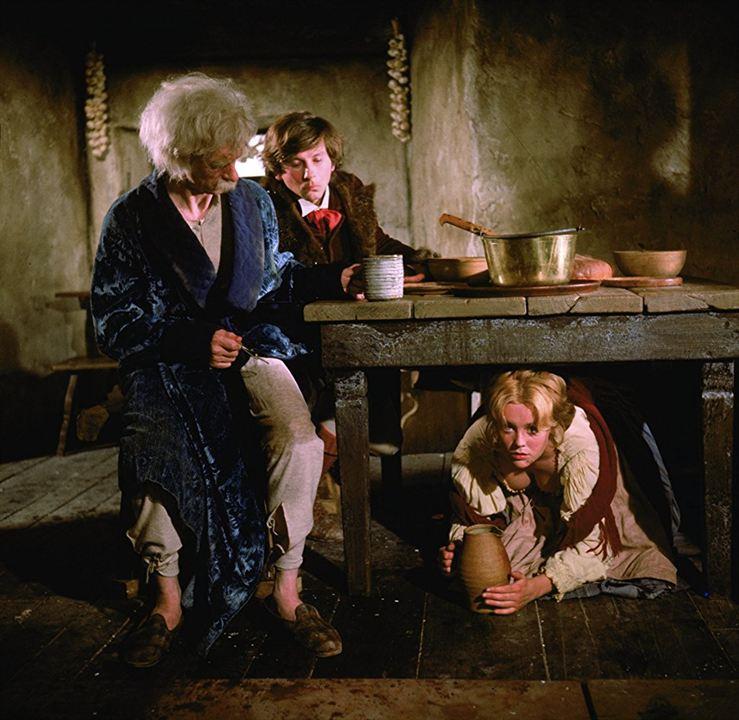El baile de los Vampiros : Foto Jack MacGowran, Roman Polanski