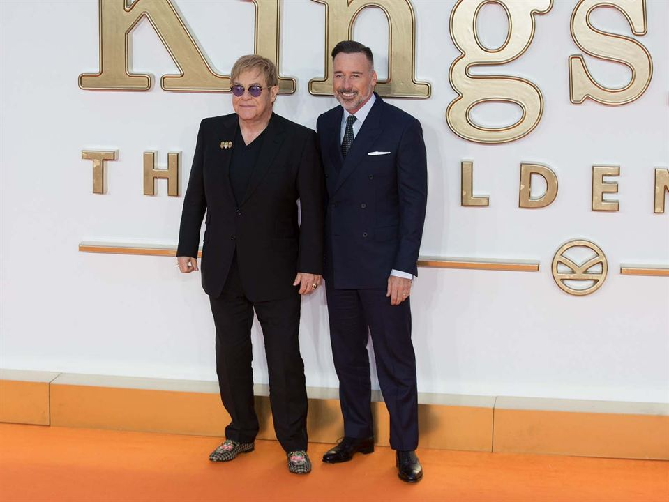 Kingsman: El círculo de oro : Couverture magazine Elton John