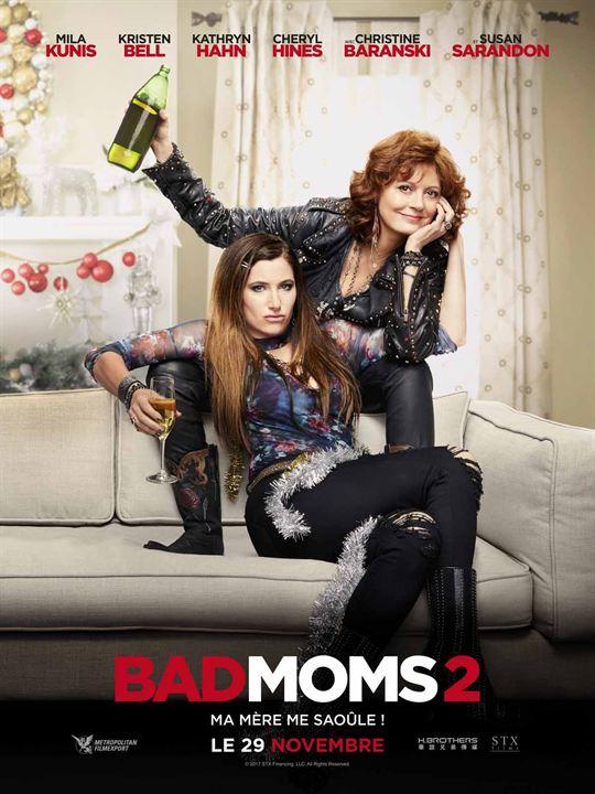 El gran desmadre (Malas madres 2): Susan Sarandon, Kathryn Hahn