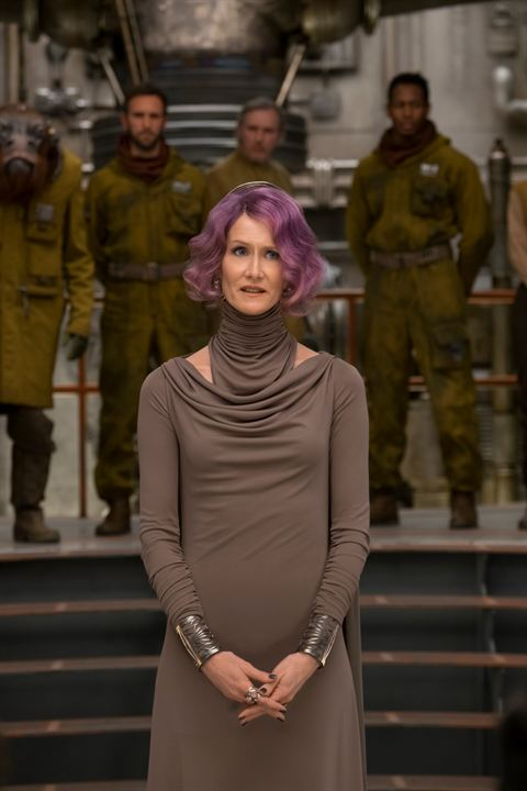 Star Wars: Los últimos Jedi: Laura Dern