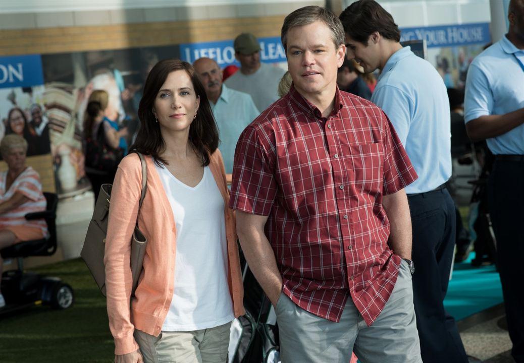 Una vida a lo grande: Matt Damon, Kristen Wiig