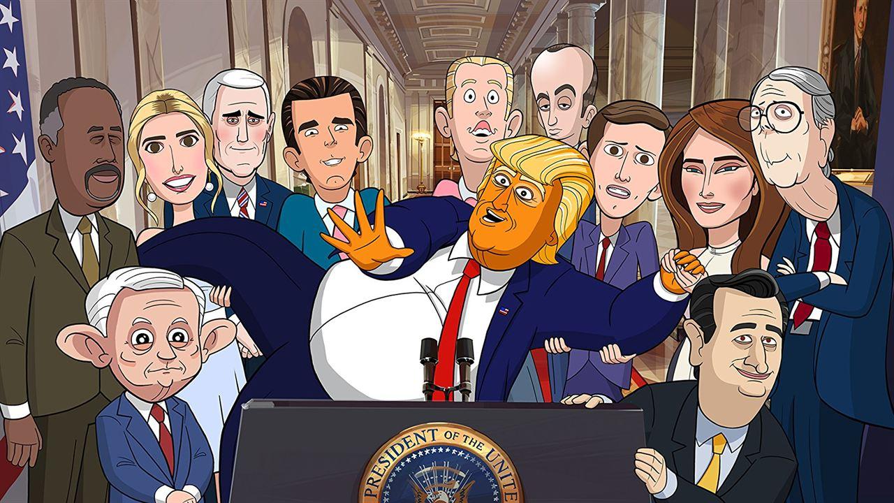 Animado presidente : Foto