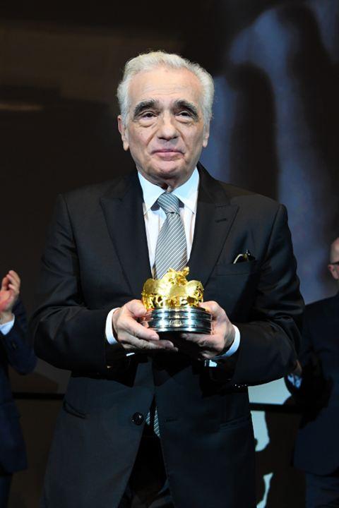 Couverture magazine Martin Scorsese