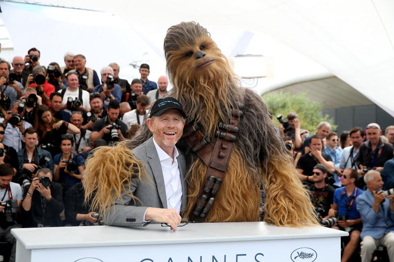 Han Solo: Una Historia de Star Wars : Couverture magazine Ron Howard