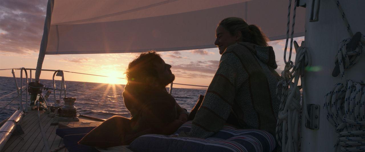 A la deriva : Foto Sam Claflin, Shailene Woodley