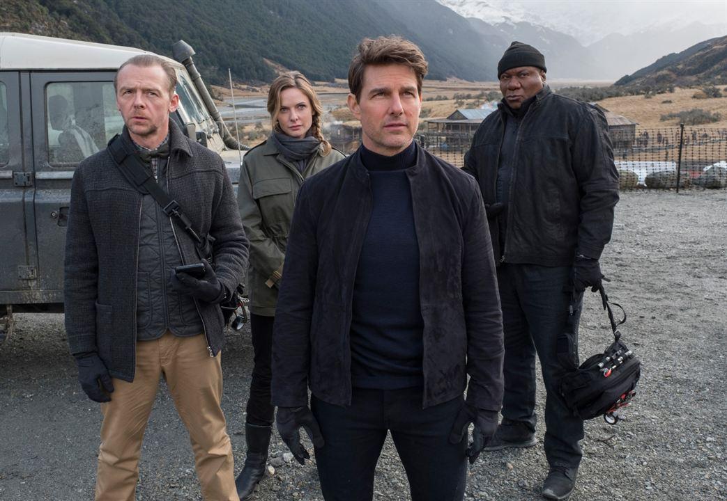 Misión: Imposible - Fallout : Foto Rebecca Ferguson, Simon Pegg, Tom Cruise, Ving Rhames