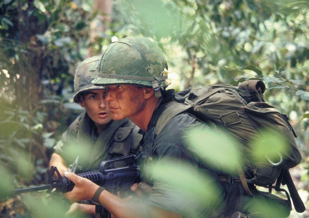 Platoon: Charlie Sheen, Tom Berenger