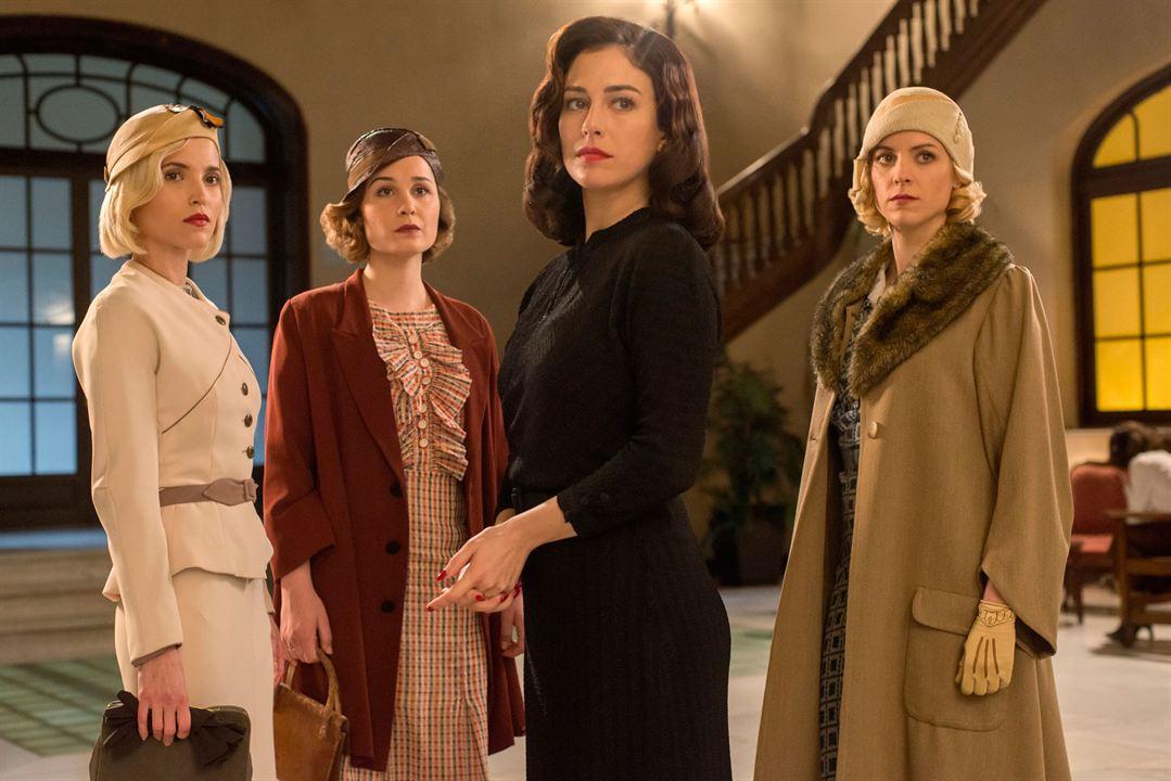 Foto Ana Fernández García, Blanca Suárez, Maggie Civantos, Nadia de Santiago