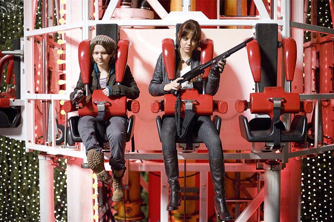 Bienvenidos a Zombieland: Emma Stone, Abigail Breslin