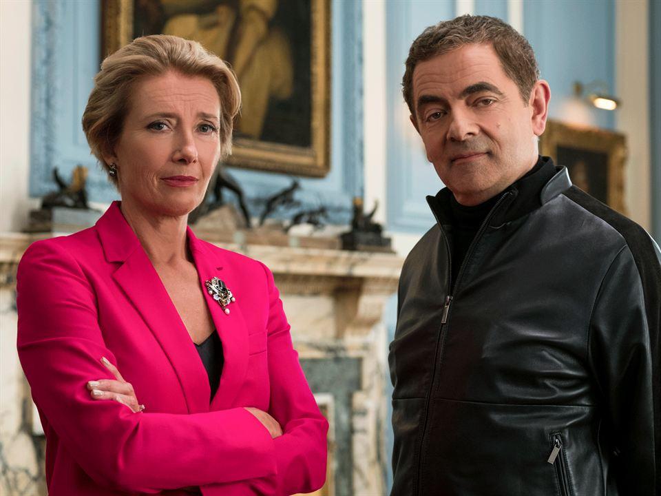 Johnny English: De nuevo en acción: Rowan Atkinson, Emma Thompson