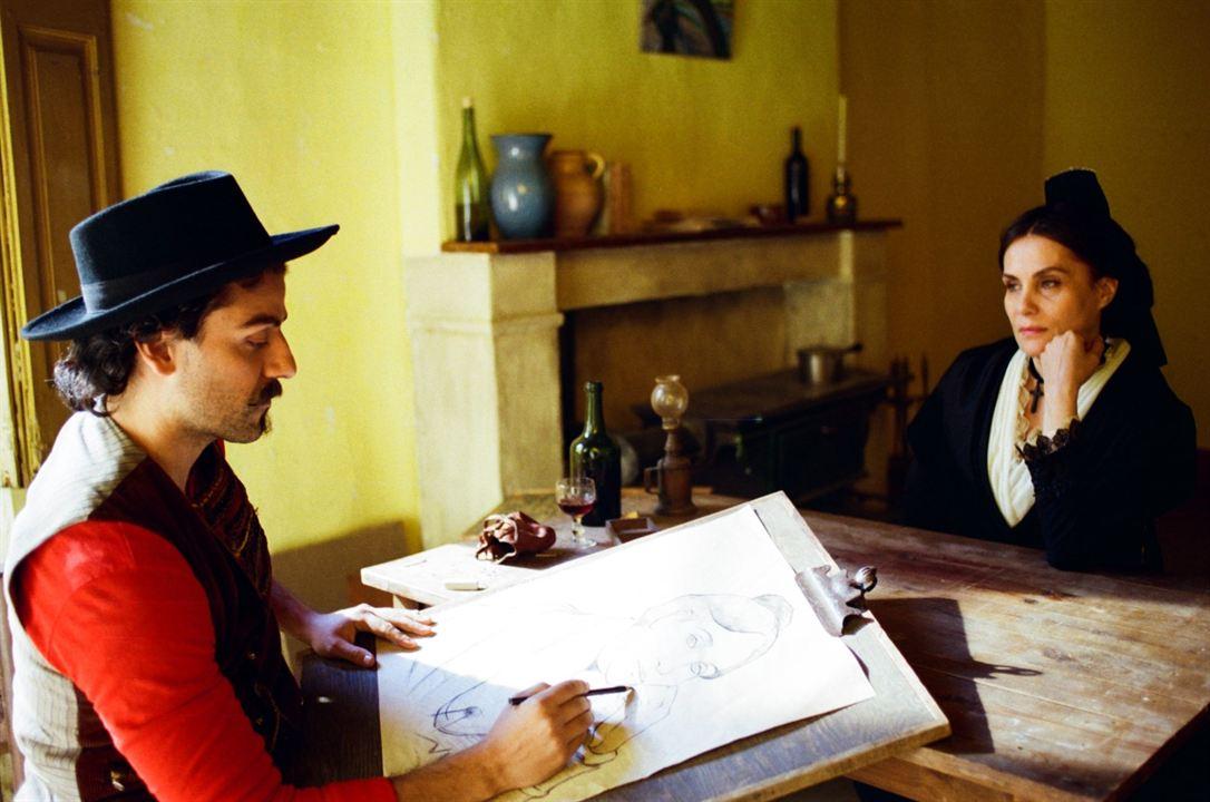 Van Gogh, a las puertas de la eternidad : Foto Emmanuelle Seigner, Oscar Isaac