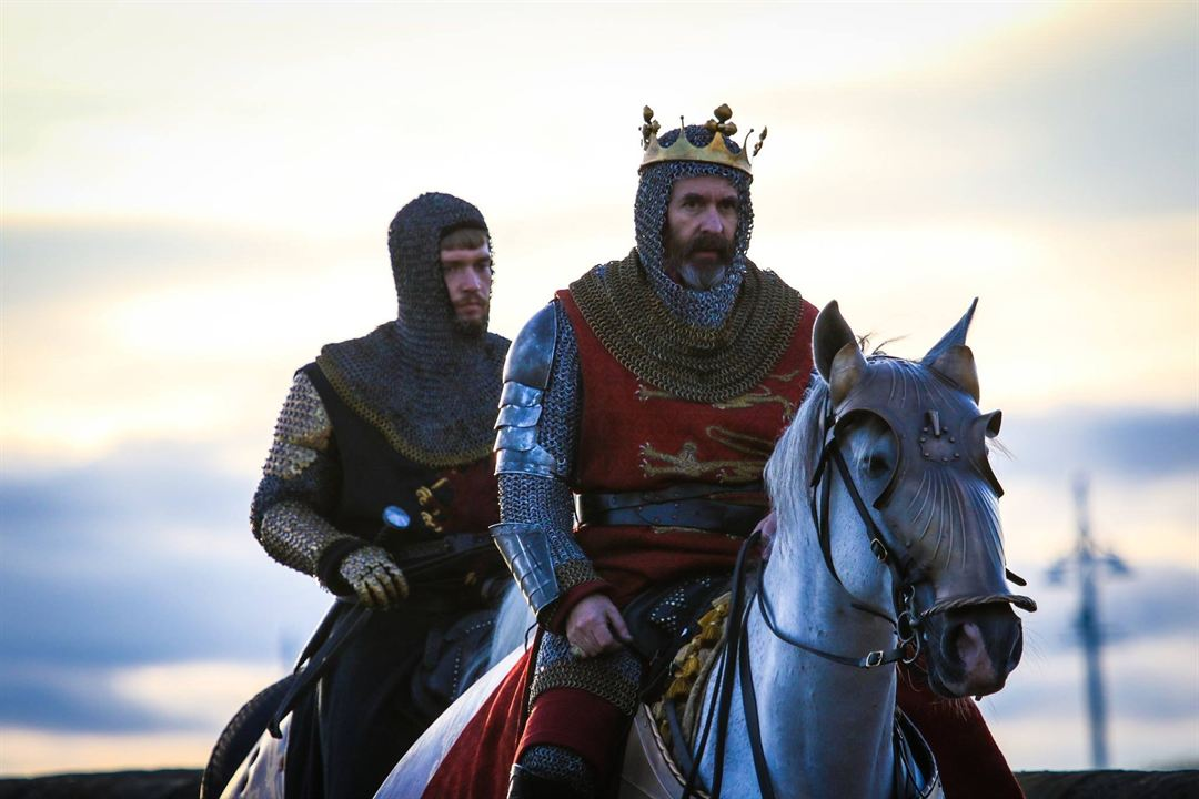 El rey proscrito : Foto Billy Howle, Stephen Dillane