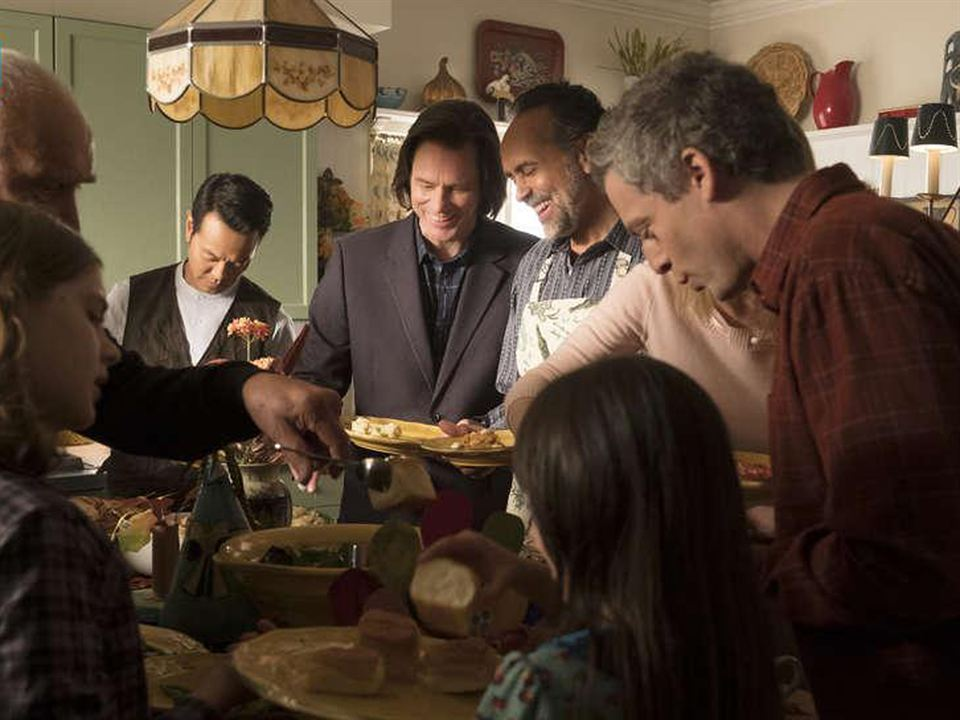 Foto Bernard White, Frank Langella, Jim Carrey, Justin Kirk, Louis Ozawa Changchien