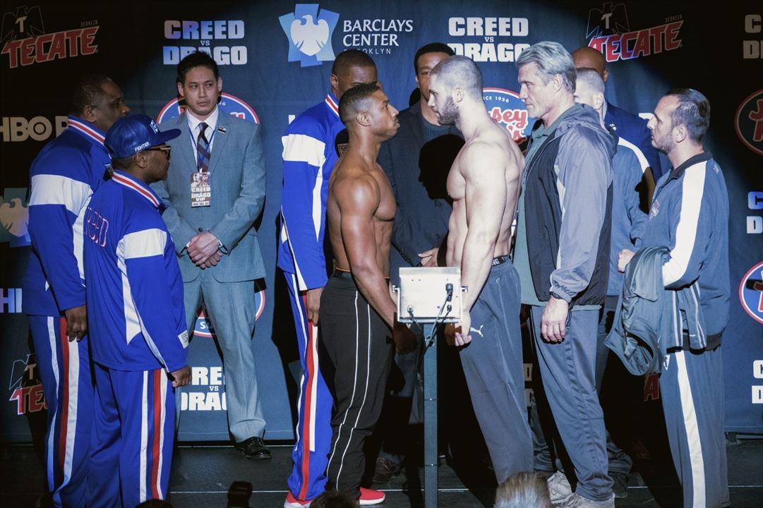 Creed II: La leyenda de Rocky : Foto Dolph Lundgren, Florian Munteanu, Michael B. Jordan