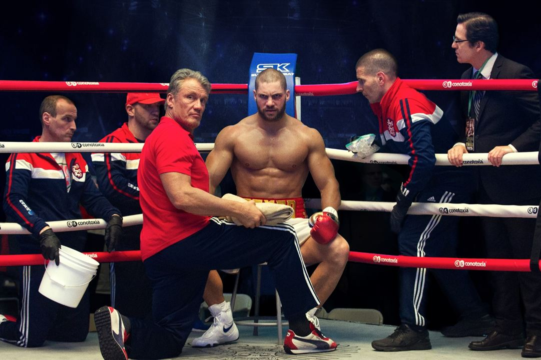 Creed II: La leyenda de Rocky : Foto Dolph Lundgren, Florian Munteanu