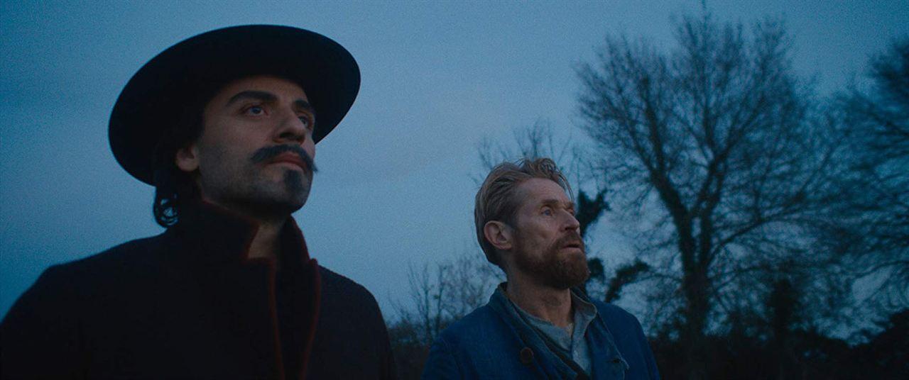 Van Gogh, a las puertas de la eternidad : Foto Oscar Isaac, Willem Dafoe
