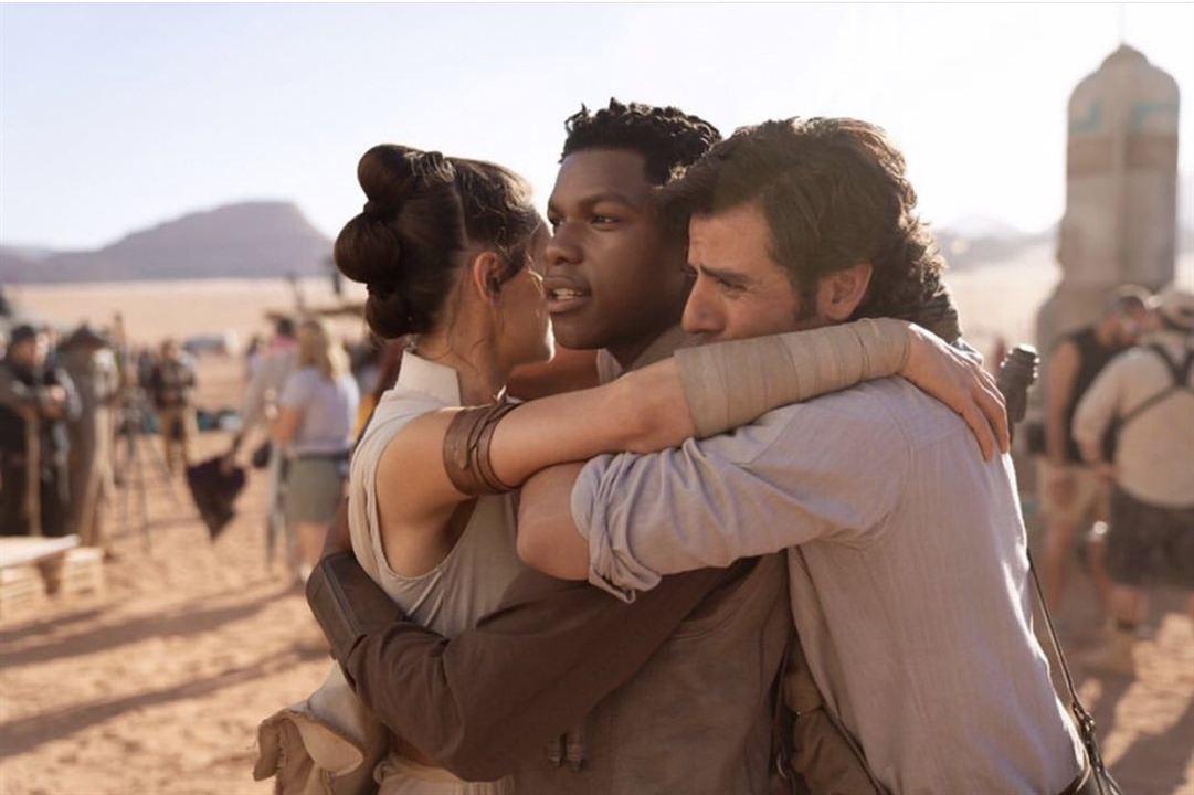 Star Wars: El Ascenso de Skywalker : Couverture magazine Daisy Ridley, John Boyega, Oscar Isaac