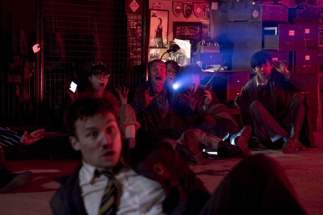 Slaughterhouse Rulez : Foto Asa Butterfield, Finn Cole, Isabella Laughland, Kit Connor, Simon Pegg