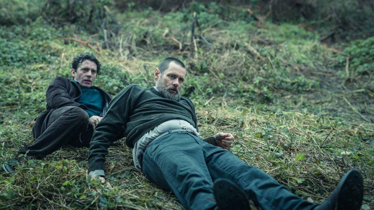Dark Crimes: Piotr Glowacki, Jim Carrey