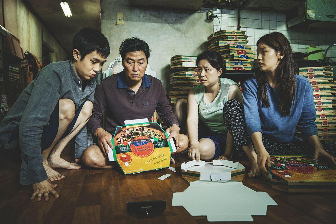 Parásitos : Foto Park So-Dam, Song Kang-Ho, Woo-sik Choi