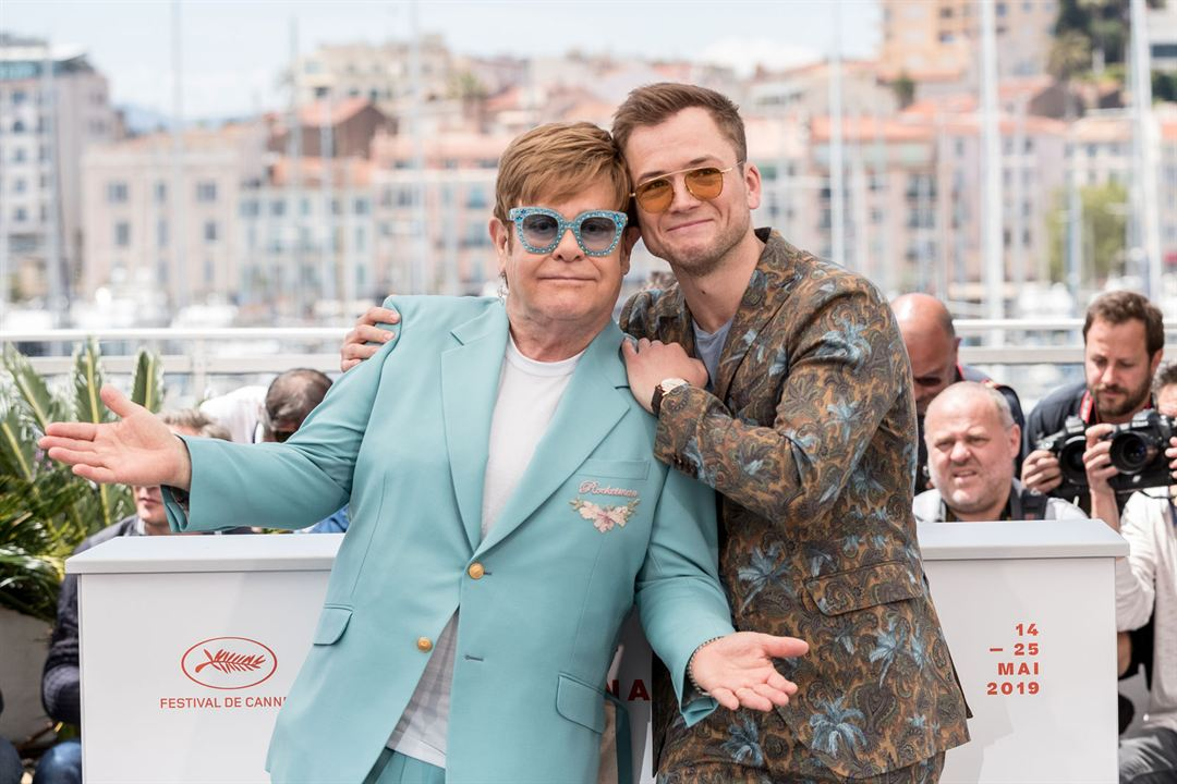 Rocketman : Couverture magazine Elton John, Taron Egerton